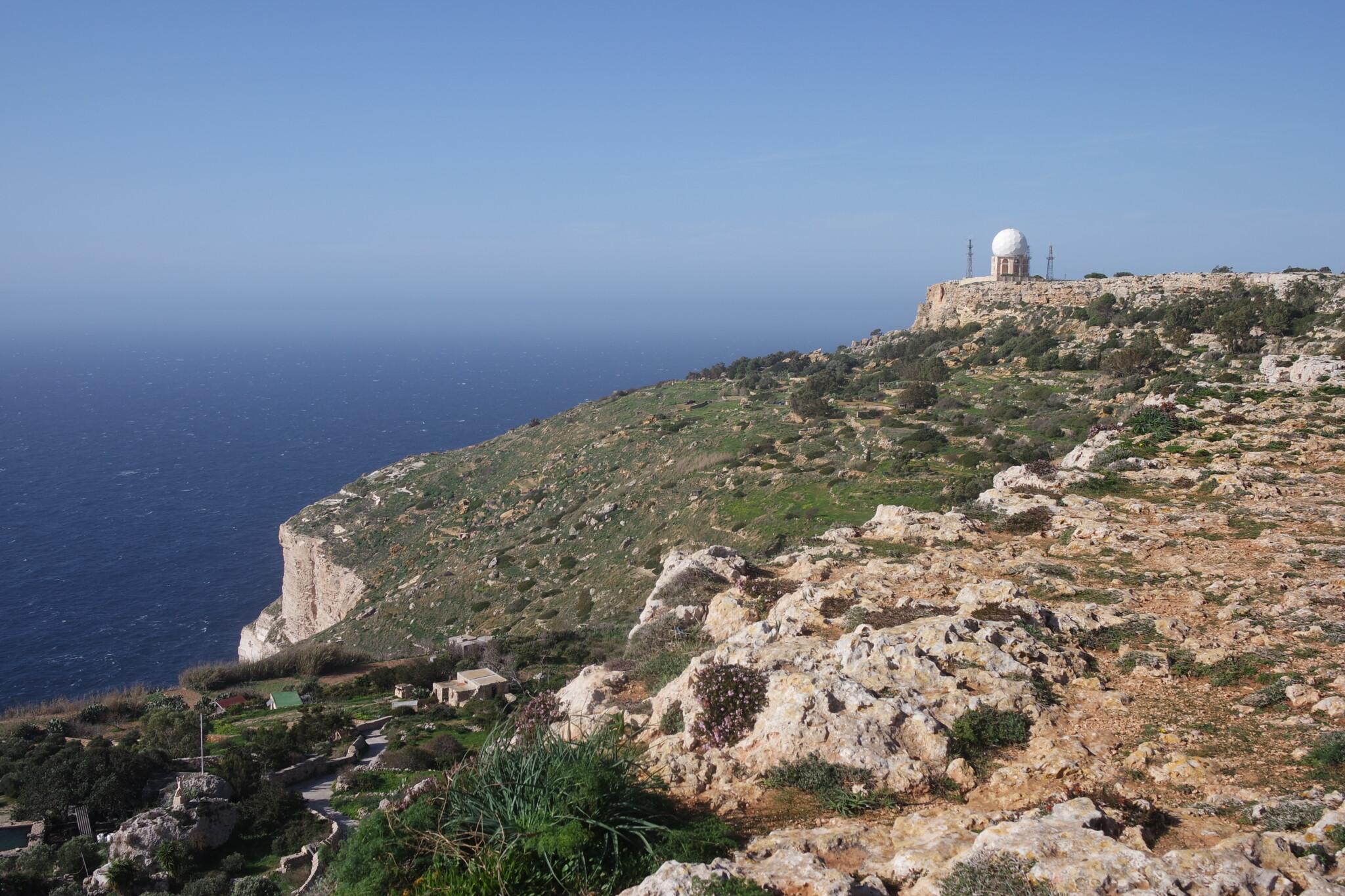 Утёсы Дингли: главная обзорная площадка средиземноморской Мальты