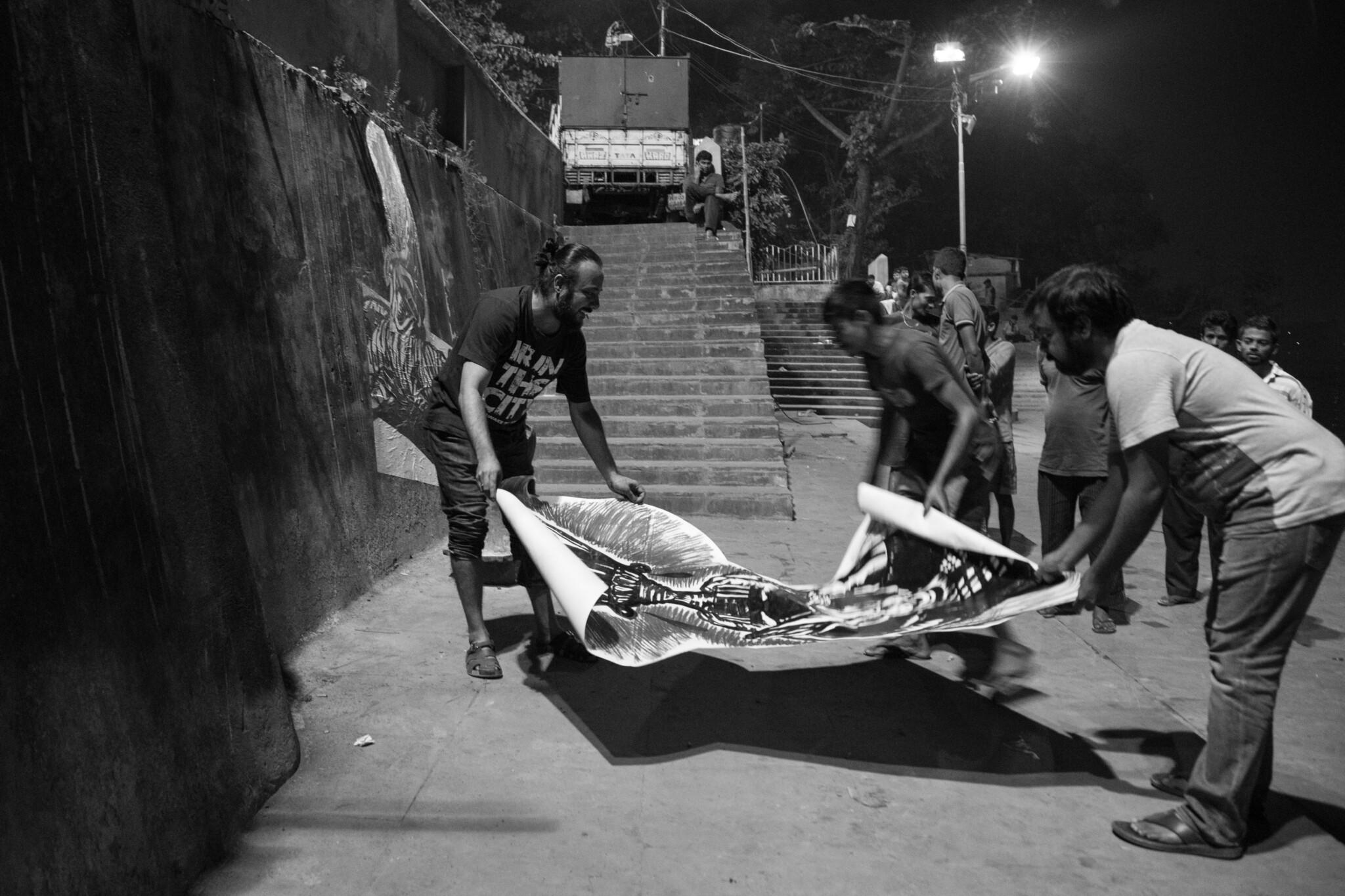 Стрит-арт в Калькутте: «Пассажир» выпускает документалку. Здесь — 1-й тизер
