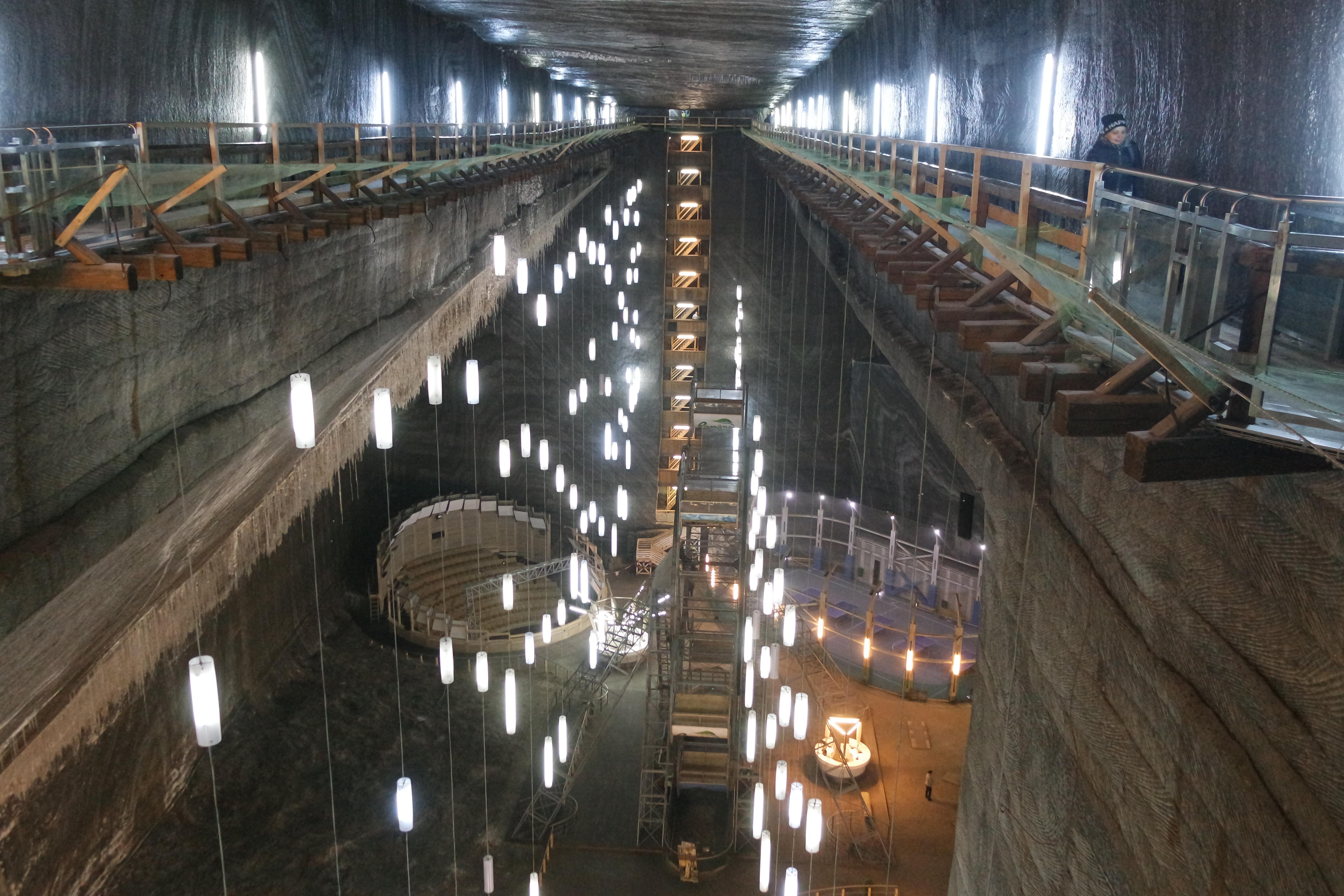 Салина Турда: невероятная соляная шахта в Румынии