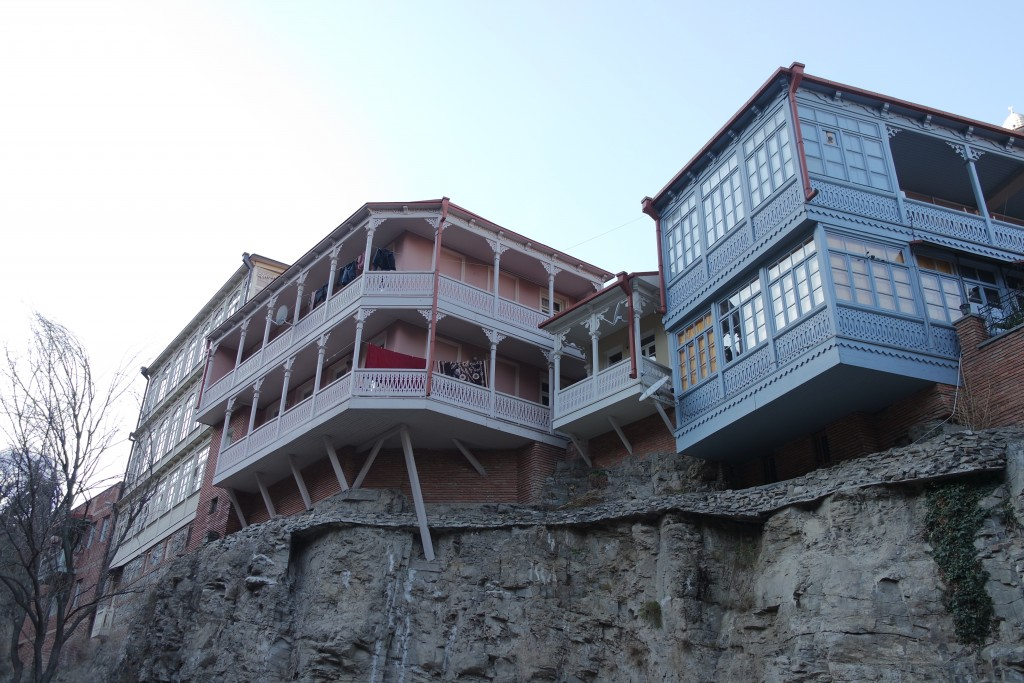 Балконы старого Тбилиси