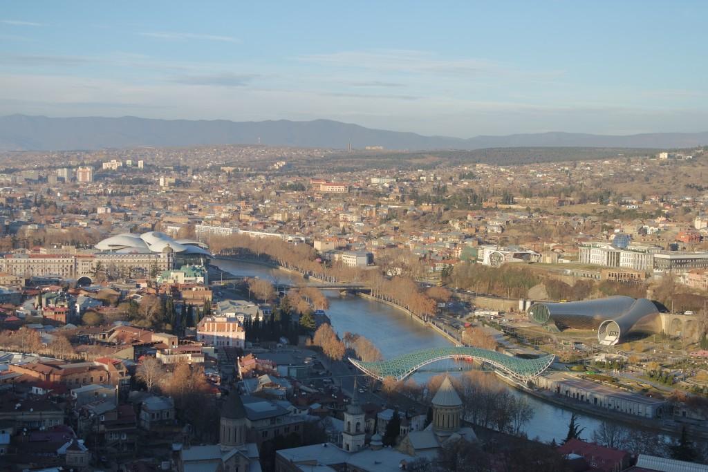 Вид на центральную часть города