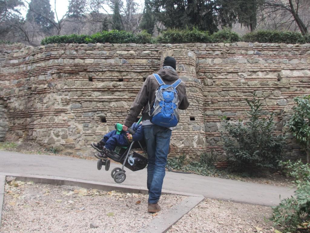 Перенос коляски