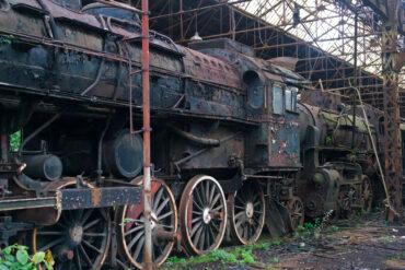 Заброшенное депо Иштвантелек, или кладбище поездов Red Star Train