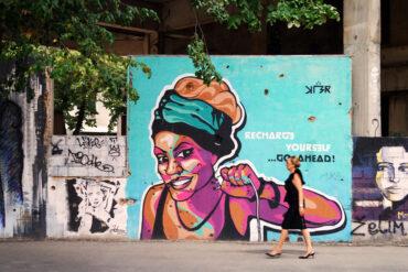 Стрит-арт на руинах Югославии: уличное искусство в Боснии и Герцеговине