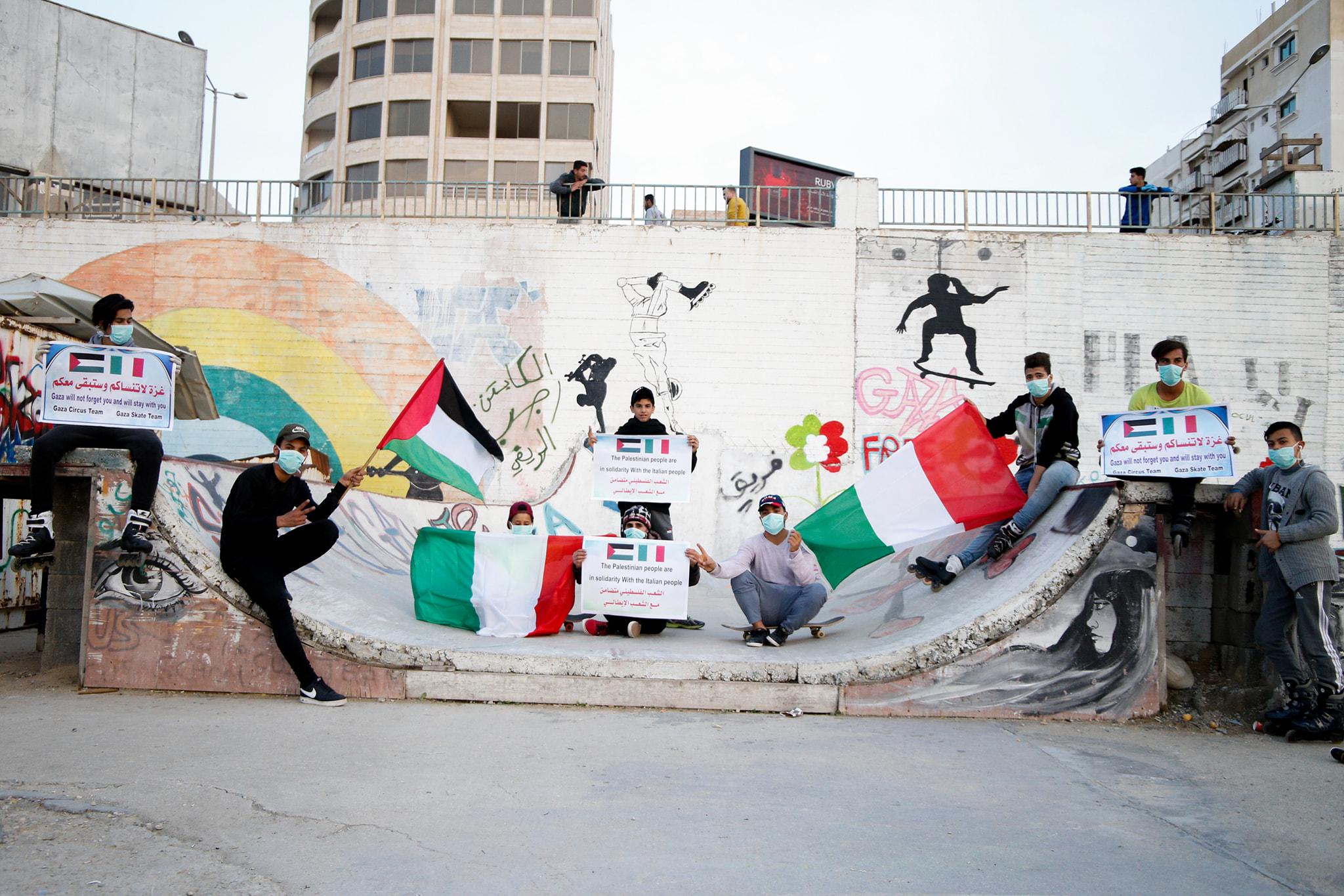 sektor-Gaza-Skate-Team
